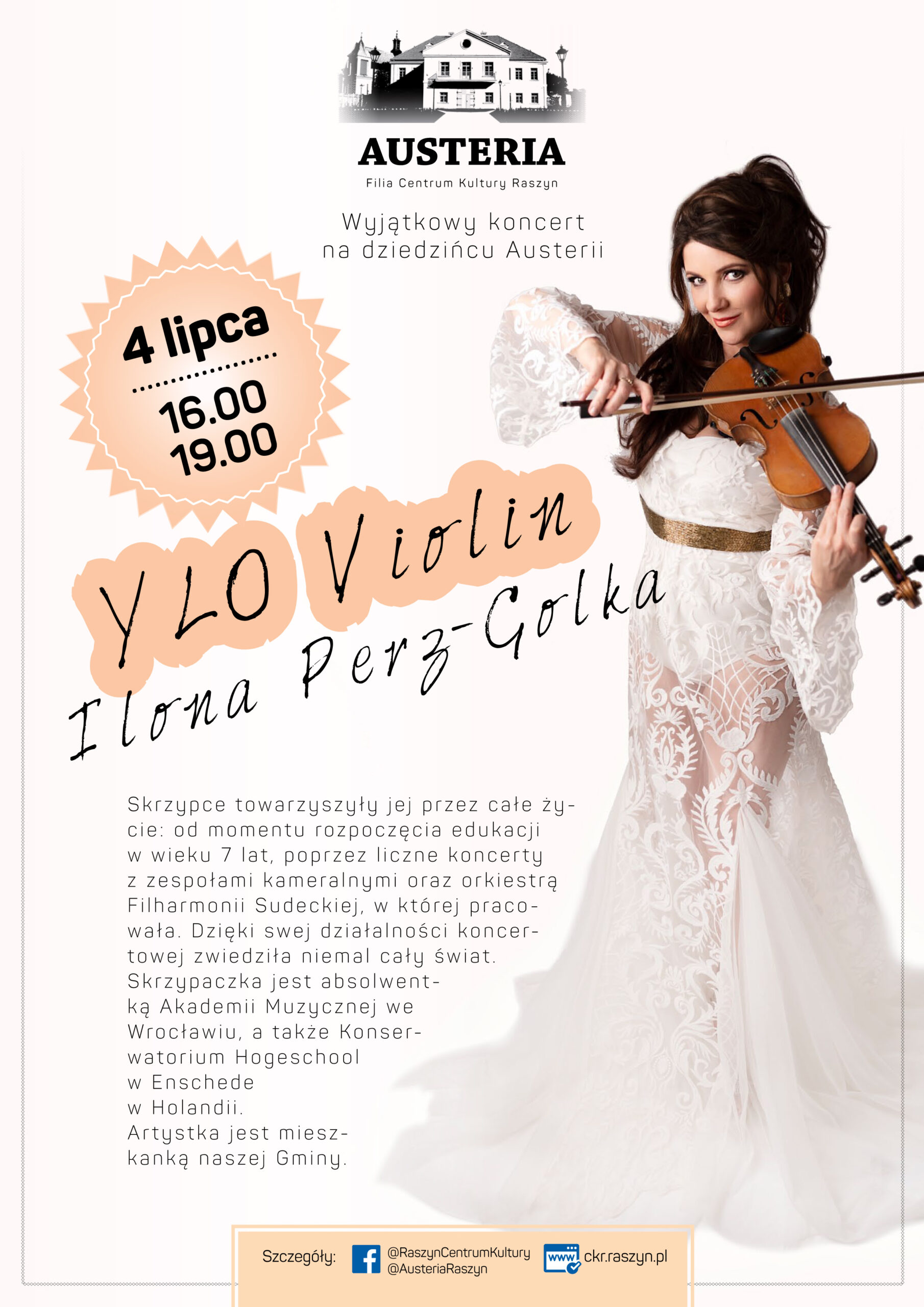 Koncert YLO Violin w Austerii